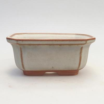 Bonsai-Schale 14,5 x 12 x 6,5 cm, beige Farbe - 1