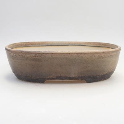 Bonsai-Schale 29,5 x 23 x 8 cm, braun-beige Farbe - 1