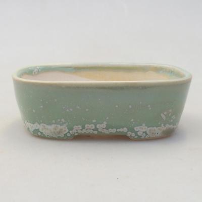 Keramik Bonsai Schüssel 2. Wahl - 11 x 11 x 8,5 cm, braune Farbe - 1