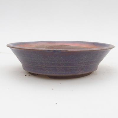 Keramik Bonsai Schüssel 2. Wahl - 16 x 16 x 4 cm, blaue Farbe - 1
