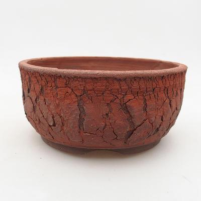 Keramische Bonsai-Schale 15 x 15 x 7 cm, graue Farbe - 1