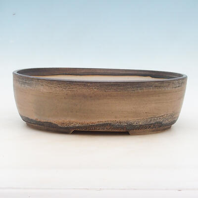 Bonsai-Schale 34 x 27 x 10 cm, Farbe beige - 1