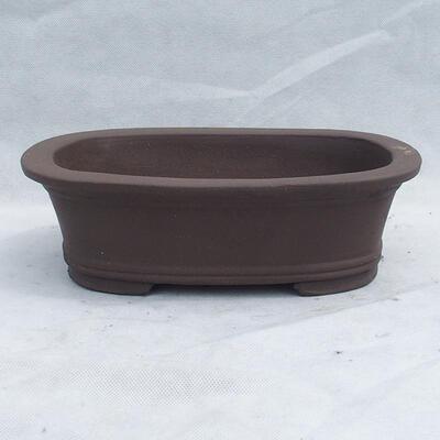 Bonsaischale 29 x 20 x 9 cm, graue Farbe - 1