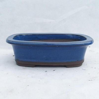 Bonsaischale 23 x 16 x 7 cm, Farbe blau - 1