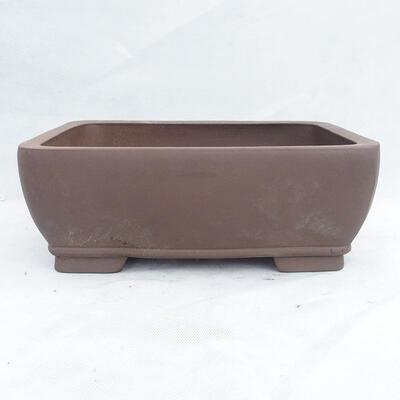 Bonsaischale 34 x 26 x 13 cm, graue Farbe - 1