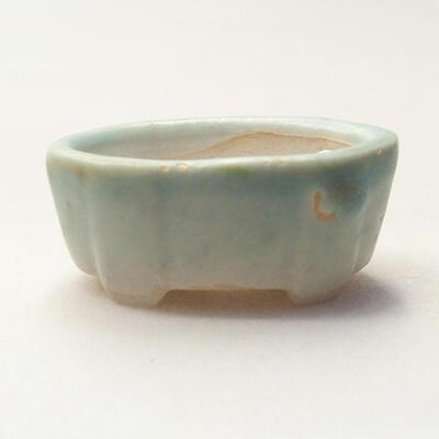 Mini Bonsai Schüssel 4 x 2,5 x 1,5 cm, Farbe grün - 1