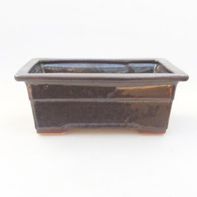 Keramische Bonsai-Schale 18 x 13 x 7 cm, Farbe grün - 1