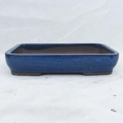 Bonsaischale 25 x 17 x 5 cm, Farbe blau - 1