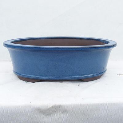 Bonsaischale 61 x 46 x 20 cm, Farbe blau - 1