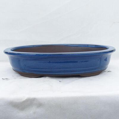 Bonsaischale 51 x 41 x 10 cm, Farbe blau - 1