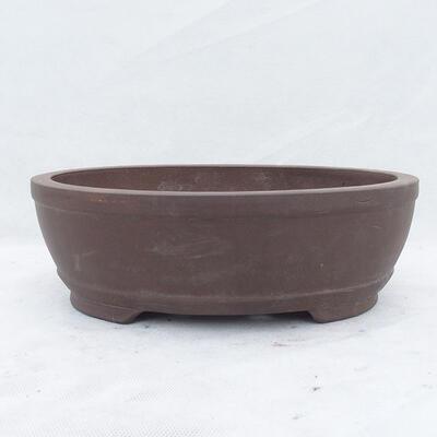 Bonsaischale 31 x 22 x 10 cm, graue Farbe - 1