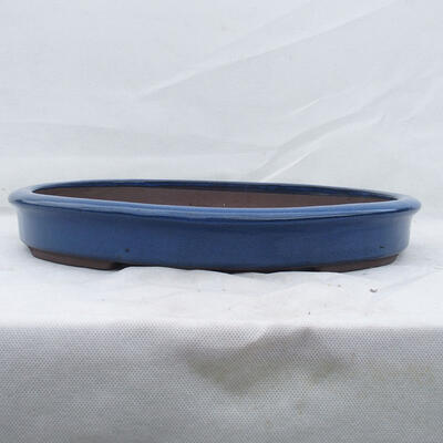 Bonsaischale 38 x 31 x 5 cm, Farbe blau - 1