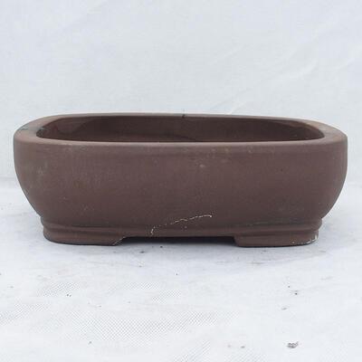 Bonsaischale 31 x 24 x 9,5 cm, graue Farbe - 1