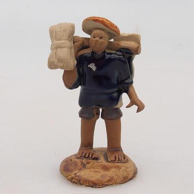 Keramische Figur - Reispicker - 1