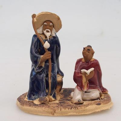 Keramikfigur - zwei weise Männer - 1