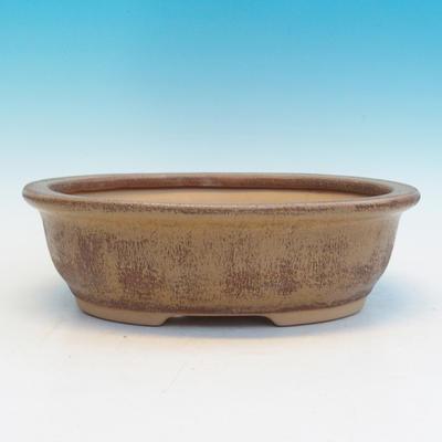 Bonsai Keramikschale CEJ 56, beige - 1