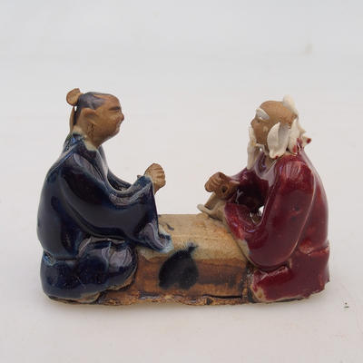 Keramikfigur - zwei Spieler - 1