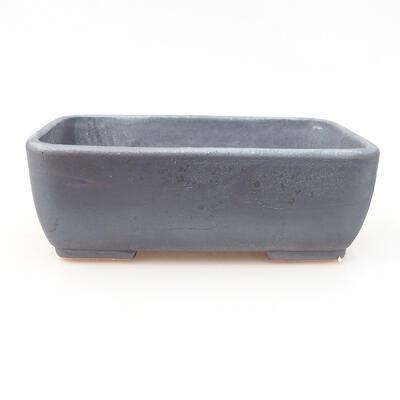 Keramische Bonsai-Schale 15,5 x 10,5 x 5 cm, Metallfarbe - 1