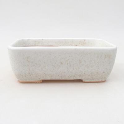 Keramische Bonsai-Schale 15,5 x 10,5 x 5 cm, beige Farbe - 1