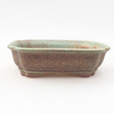 Keramische Bonsai-Schale 15 x 12 x 4 cm, Farbe grün - 1