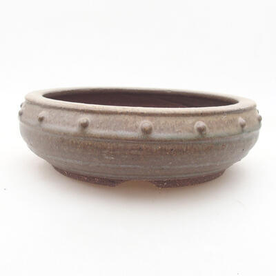 Keramische Bonsai-Schale 17 x 17 x 5,5 cm, Farbe grün - 1