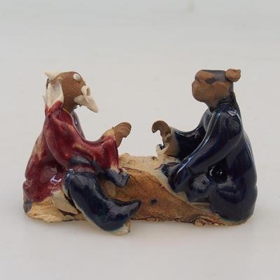 Keramikfigur - Paar Spieler - 1