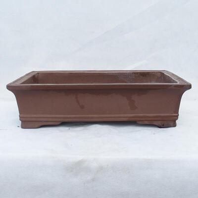 Bonsaischale 49 x 29 x 13 cm, graue Farbe - 1