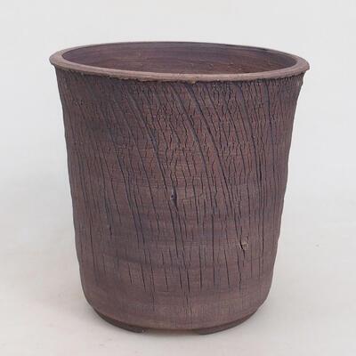 Bonsaischale aus Keramik 17 x 17 x 17 cm, Farbe rissig - 1