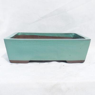 Bonsaischale 41 x 29 x 12 cm, Farbe grün - 1