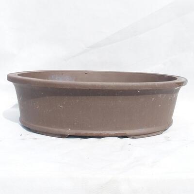 Bonsaischale 50 x 38 x 14 cm, graue Farbe - 1
