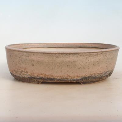 Bonsai-Schale 29 x 23 x 8,5 cm, grau-beige Farbe - 1