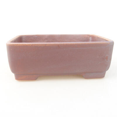 Keramische Bonsai-Schale 14,5 x 11 x 5 cm, graue Farbe - 1