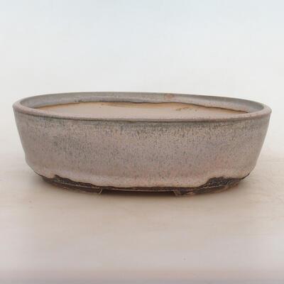 Bonsai-Schale 24 x 19 x 7 cm, grau-beige Farbe - 1