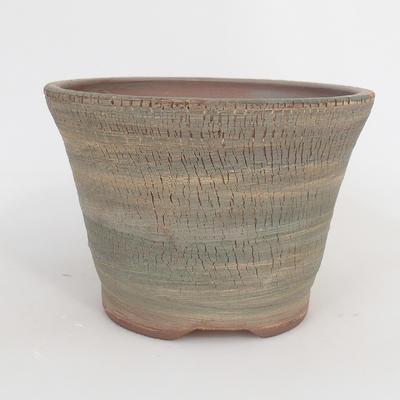 Keramik-Bonsaischale - in einem Gasofen mit 1240 ° C gebrannt - 1
