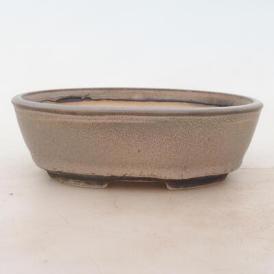 Bonsai-Schale 18 x 13 x 6 cm, Farbe grau - 1