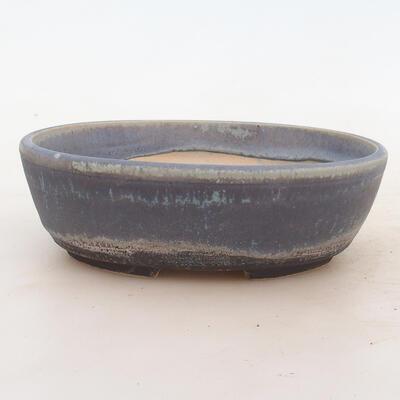 Bonsai-Schale 18 x 13 x 6 cm, Farbe blau - 1
