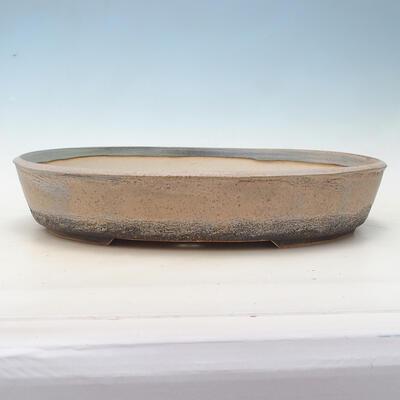 Bonsai-Schale 44,5 x 35,5 x 8,5 cm, Farbe beige-grau - 1