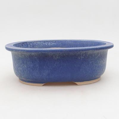Keramische Bonsai-Schale 23 x 19 x 8 cm, Farbe blau - 1
