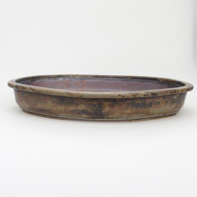 Keramik-Bonsaischale - im Gasofen bei 1240 ° C gebrannt - 1