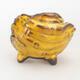 Keramikschale 7 x 7 x 6,5 cm, Farbe gelb - 1/3