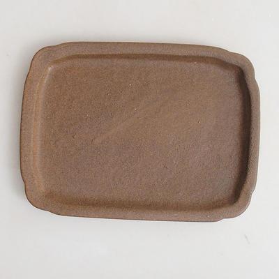 Keramische Bonsai-Untertasse H 50 - 17 x 12,5 x 1,5 cm - 1