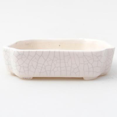 Keramik Bonsai Schüssel 10 x 8,5 x 2,5 cm, Krebse Farbe - 1