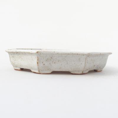 Keramik Bonsai Schüssel 11,5 x 11,5 x 2 cm, Krebse Farbe - 1
