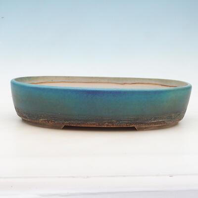 Bonsai-Schale 43 x 34 x 9,5 cm, grau-beige Farbe - 1