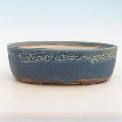 Bonsai-Schale 31 x 24 x 10 cm, Farbe blau - 1