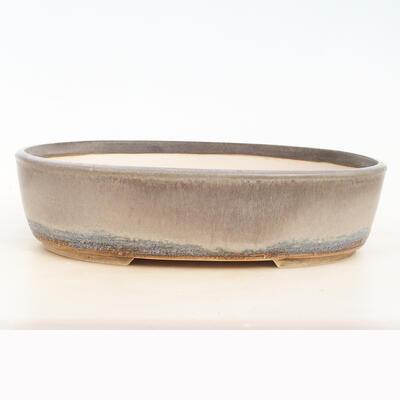 Bonsai-Schale 36 x 27 x 9,5 cm, Farbe grau - 1