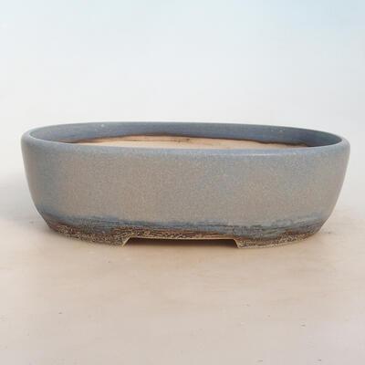 Bonsai-Schale 27 x 19,5 x 8 cm, Farbe blaugrau - 1