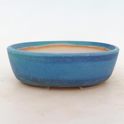 Bonsai-Schale 22 x 17 x 7 cm, Farbe blau - 1