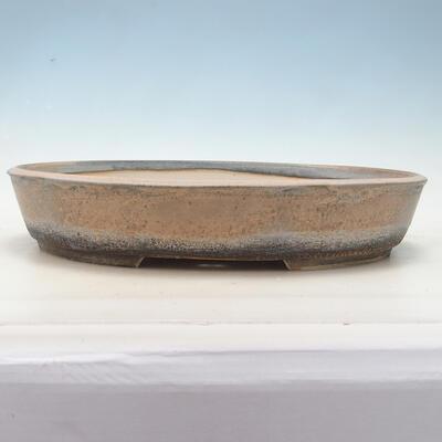 Bonsai-Schale 45 x 35,5 x 8,5 cm, Farbe beige-grau - 1