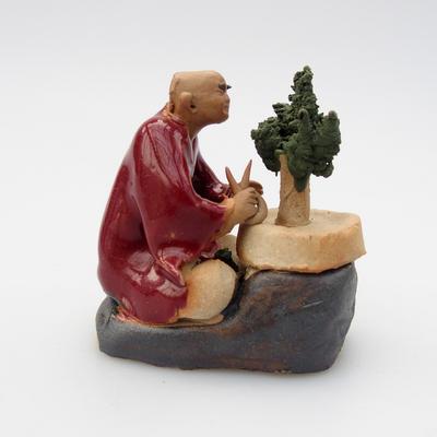 Keramik-Figur - Bonsajista - 1